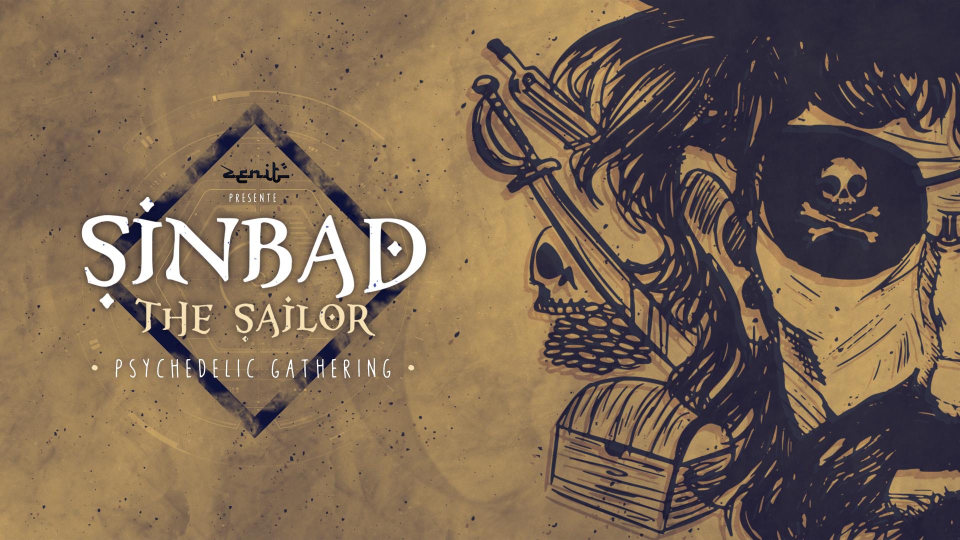 Sinbad The Sailor - Paris - [warehouse/techno trance/20KW] Aura Vortex / Zen Racoon / LMX