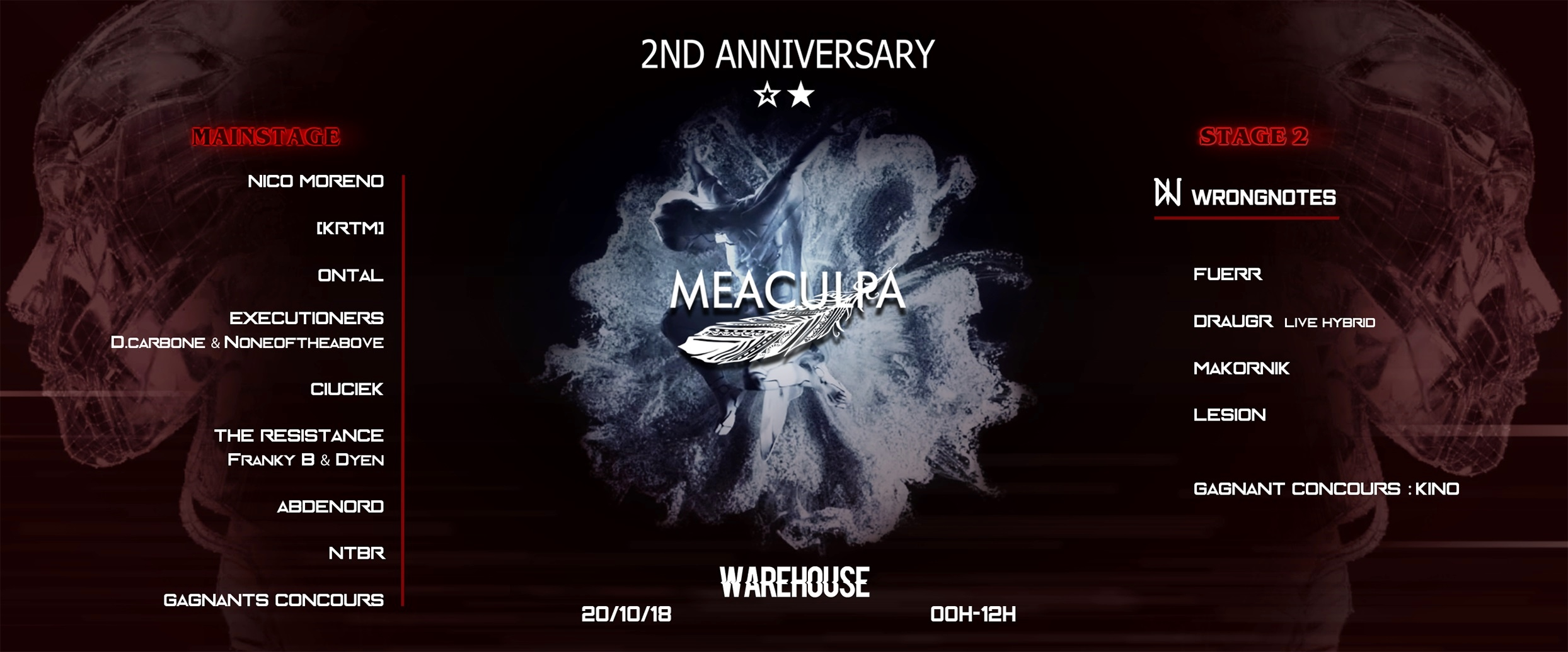 Meaculpa // 2nd Anniversary ☆★