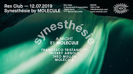 Synesthesie BY Molecule: Francesco Tristano Live, Thierry Arnold