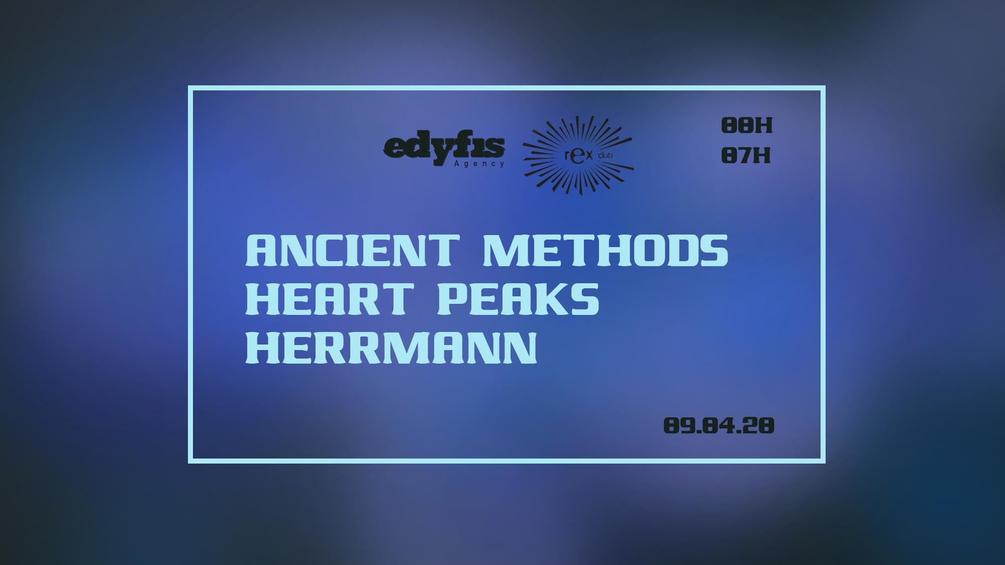 Edyfis Agency: Ancient Methods, Heart Peaks, Herrmann