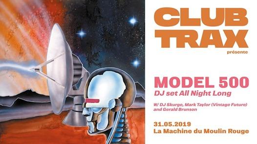 Club Trax : Model 500 (All Night Long)