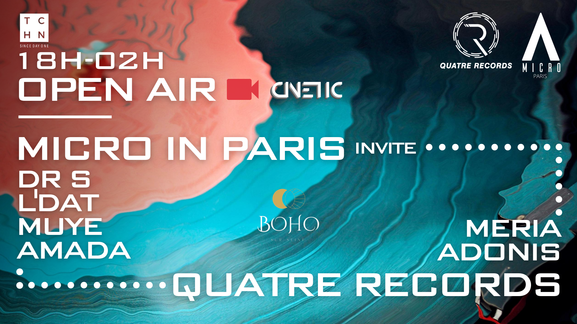 Micro in Paris invite Quatre Records