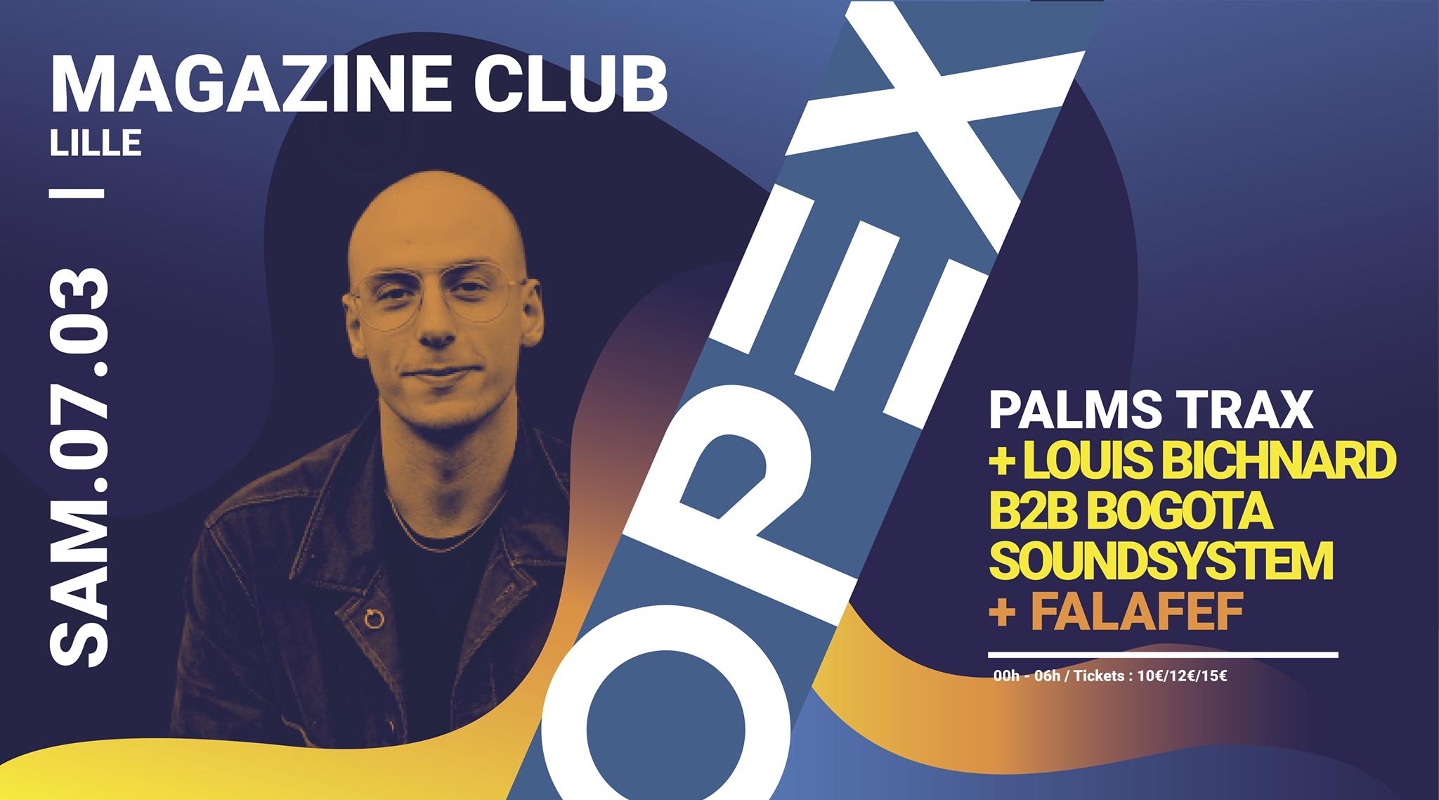 OPEX présente Palms Trax