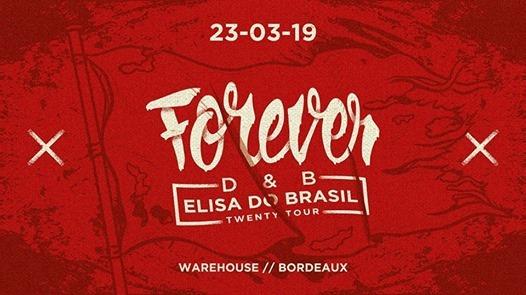 Elisa do Brasil Twenty Tour Bordeaux