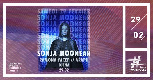 Sonja Moonear Ramona Yacef & Arapu at Dieze Warehouse