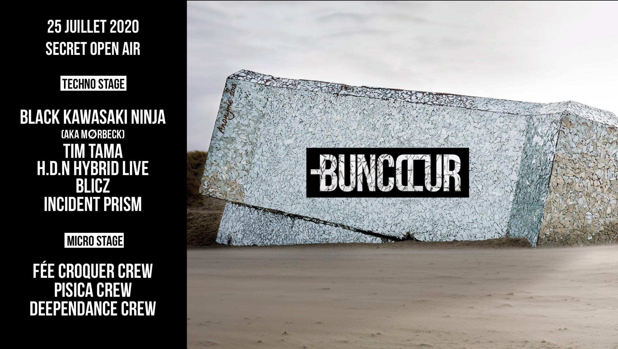 Buncœur Secret Open Air /// 2 Stages /// 4000m2