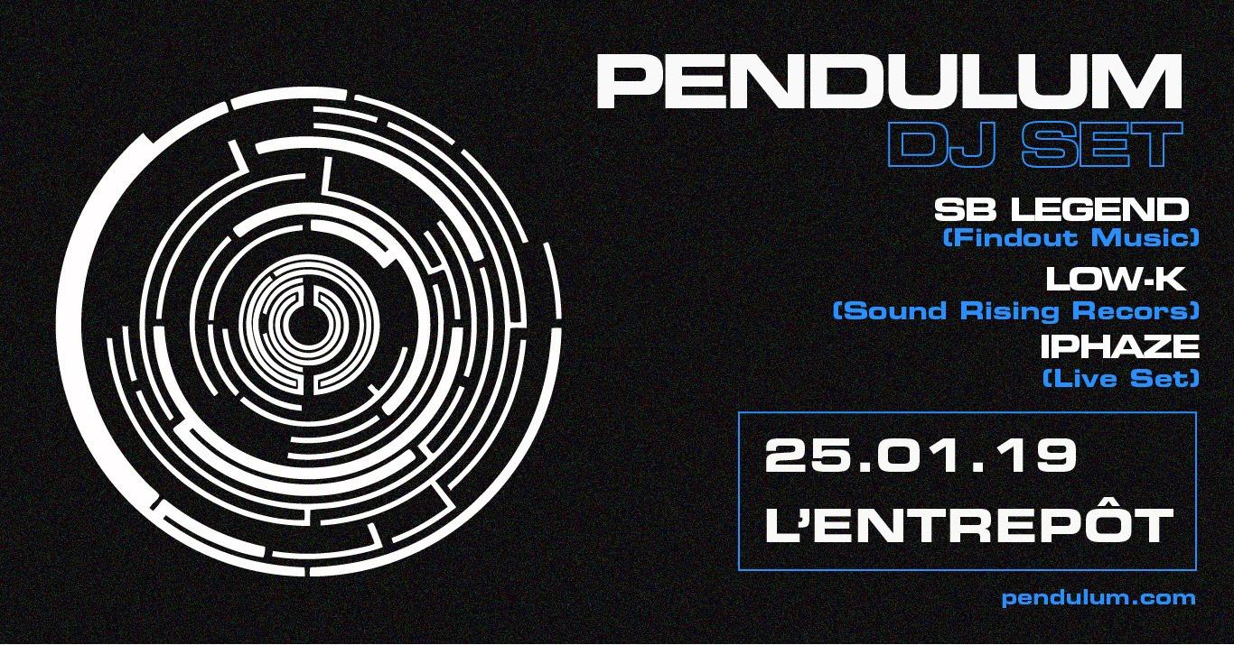 Pendulum DJ Set à Bordeaux