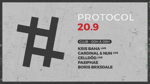 20.9 : Kris Baha (live) | Cardinal&Nun (live) | Celldöd | Pasiphae | B.Barksdale