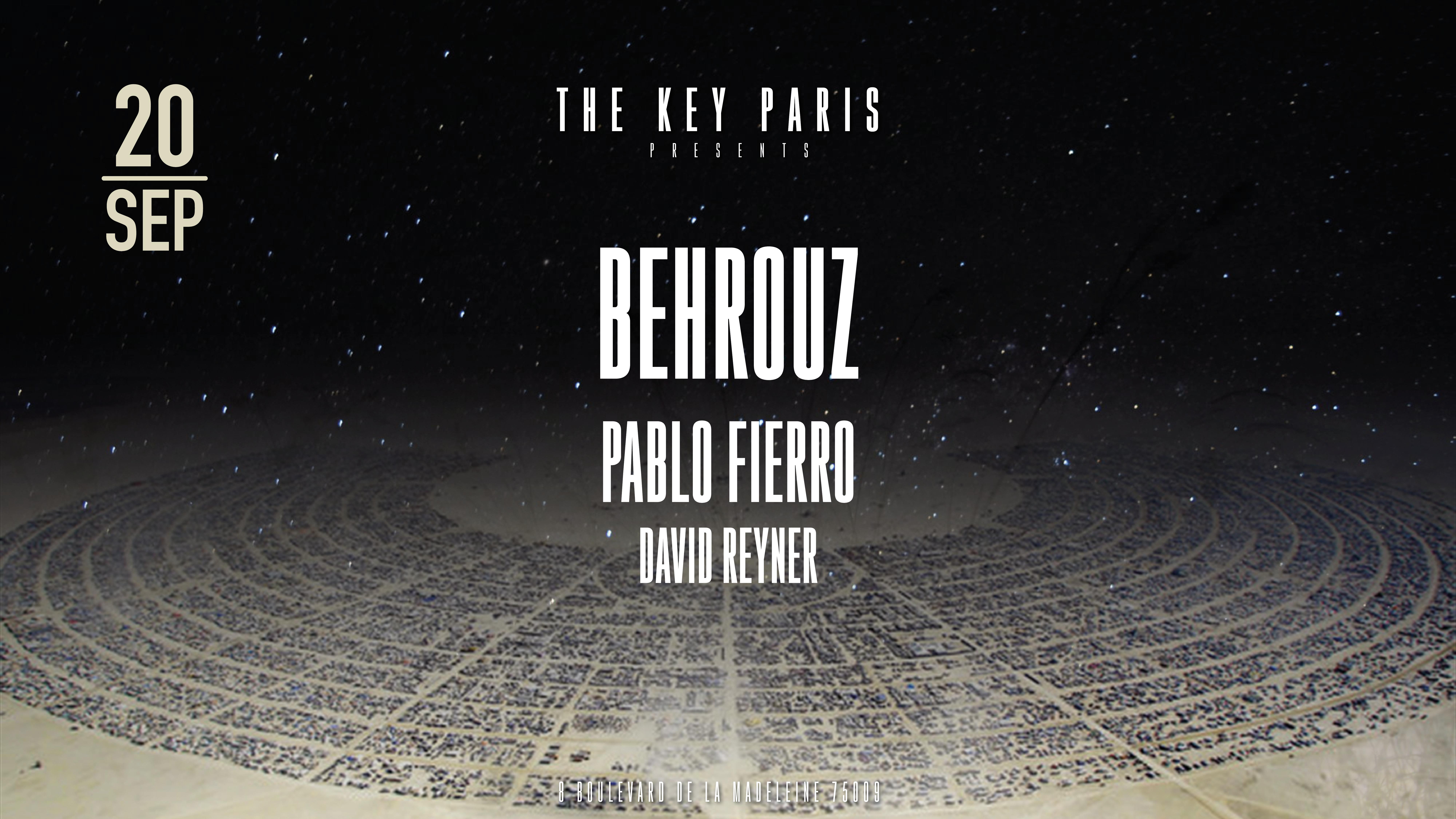 The Key Paris presents : The Burn with Behrouz & Pablo Fierro