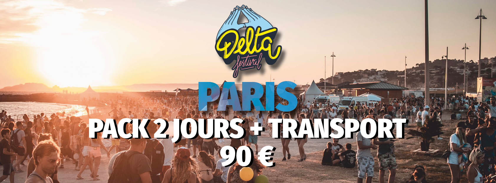 PASS 2 JOURS + TRANSPORT PARIS/MARSEILLE - ALLER/RETOUR
