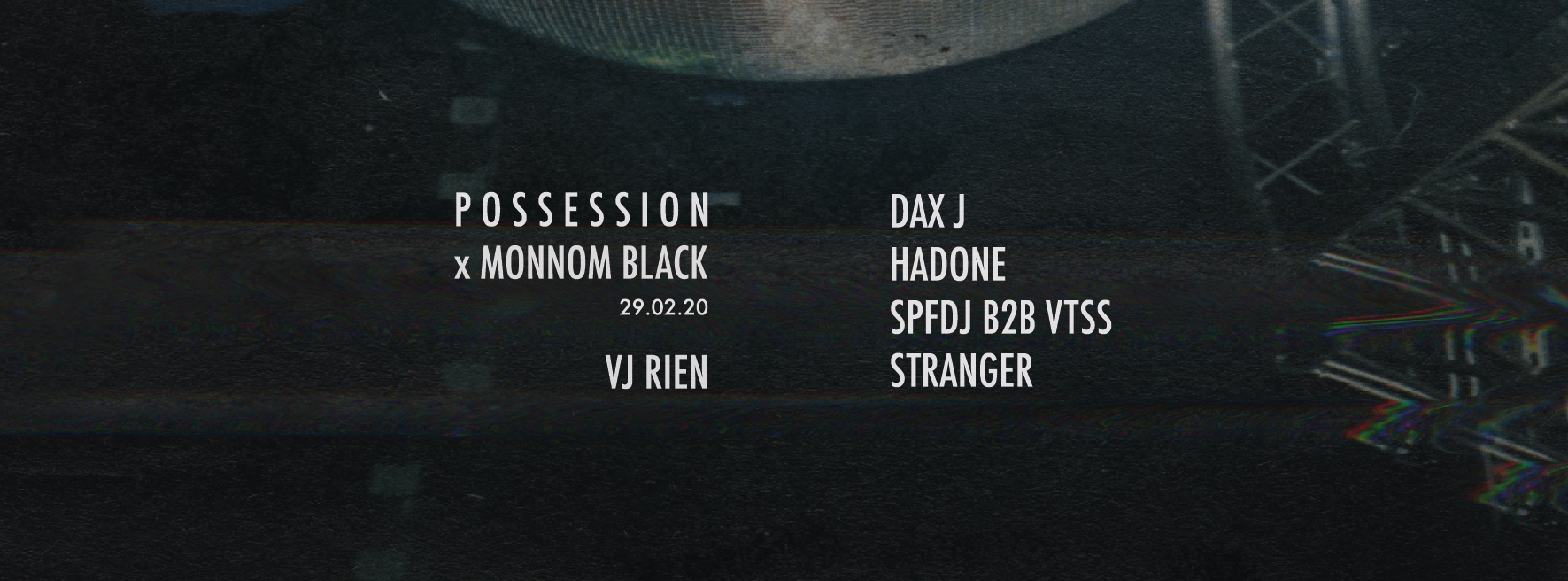 Possession x Monnom Black