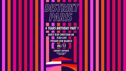 DISTRIKT PARIS 4 YEARS BIRTHDAY - PART 1