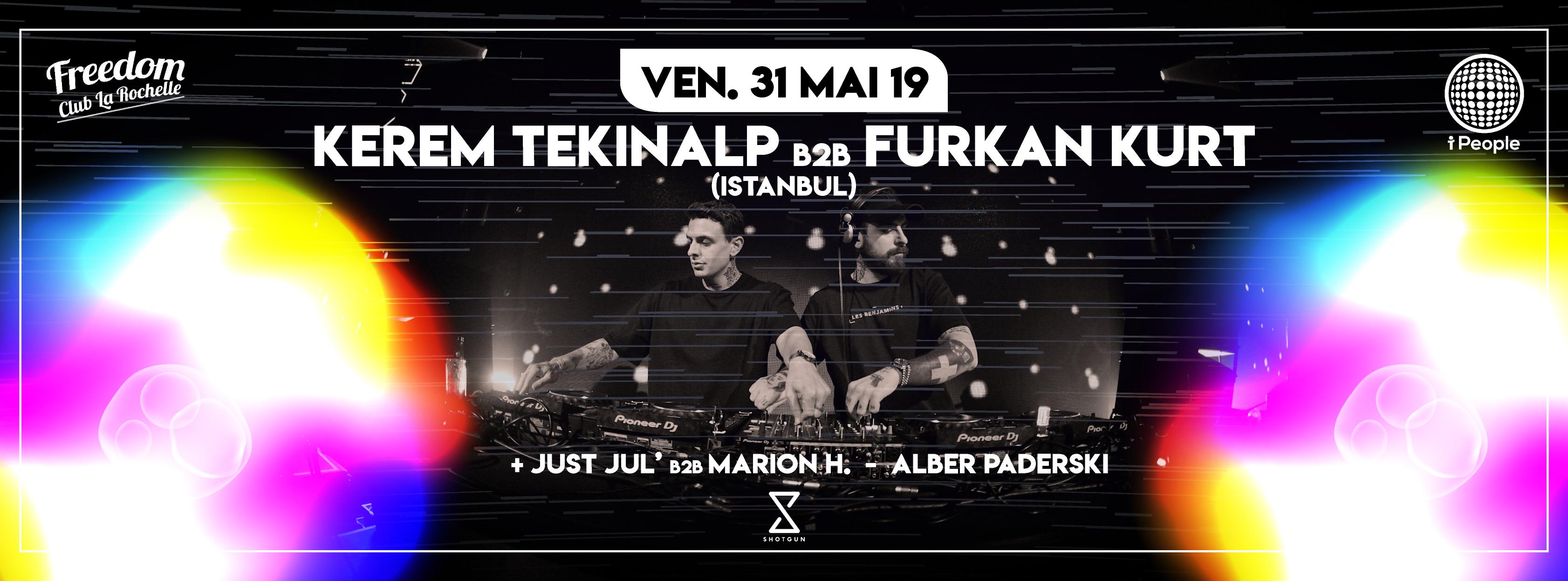 I People #5 w/ Kerem Tekinalp B2B Furkan Kurt (Istanbul)