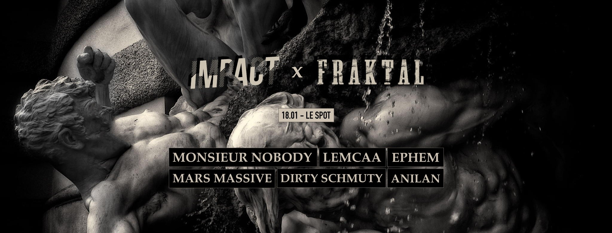Impact x Fraktal: Le Spot