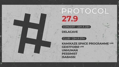 27.9 : Delacave Kamikaze Space Prog Unhuman Pessimist Isabassi Geistform