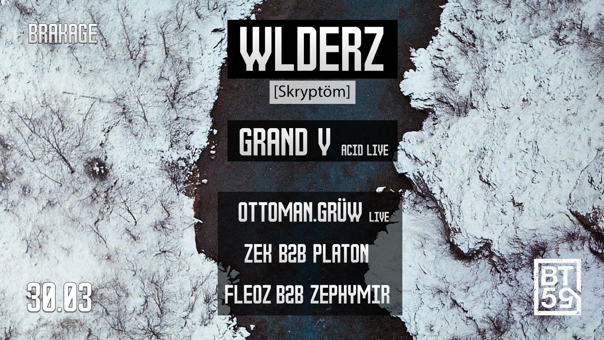 ☾ Brakage invite Wlderz (Skryptöm)