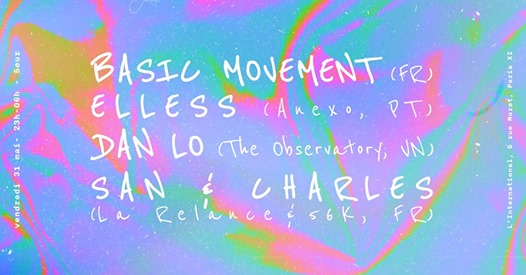 La Relance & 56K invitent : Basic Movement & More
