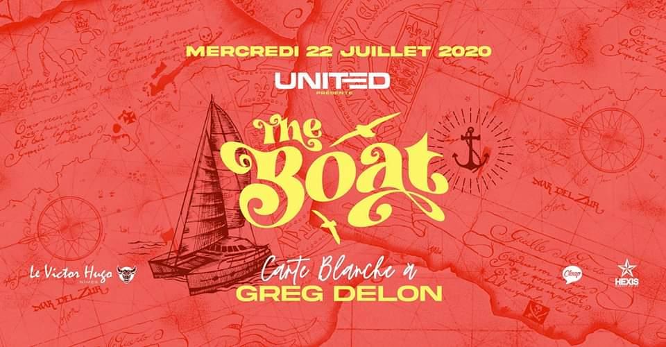 The BOAT by United : carte blanche à GREG DELON