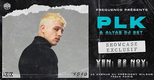 PLK en Showcase I YOYO I Vendredi 22 Novembre