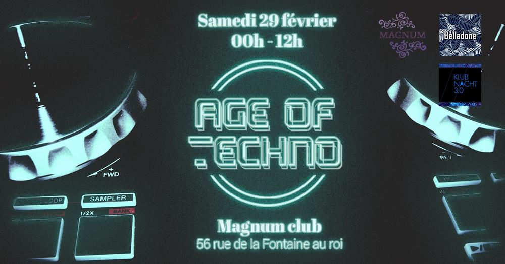 Age Of Techno - 23h/12h