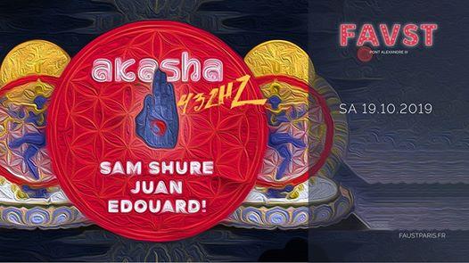 Akasha 432 Hz w/ Sam Shure, Juan, Edouard!