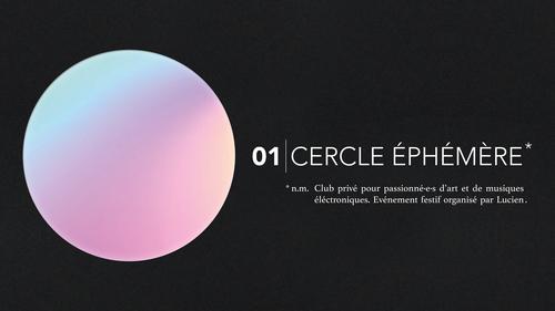 Cercle Ephémère l 01