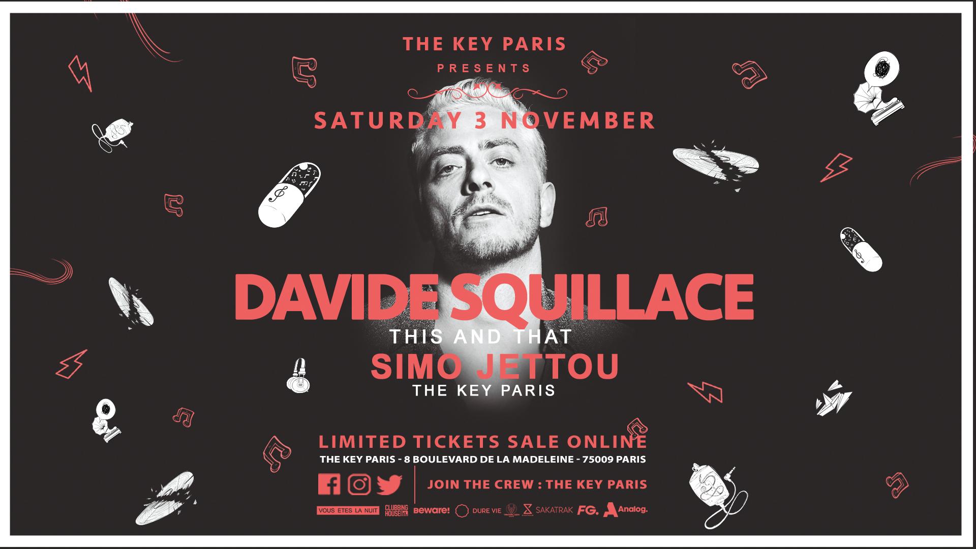 The Key Paris presents : David Squillace
