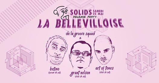 De La Groove x Bellevilloise (Release Party)