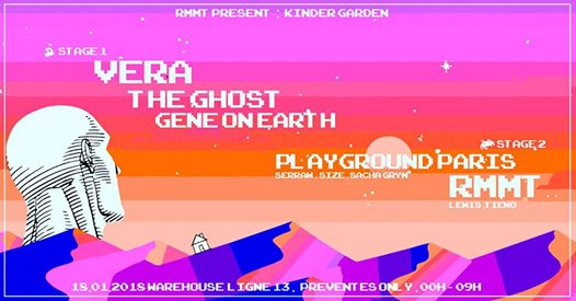 Kinder Garden x Vera The Ghost Gene on Earth Playground RMMT