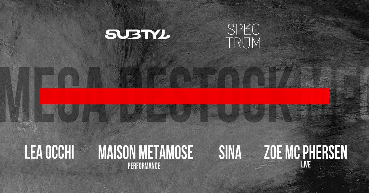 Subtyl invite Spectrum et Maison Metamose