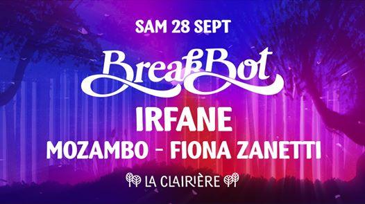 La Clairière : Breakbot, Irfane, Mozambo, Fiona Zanetti