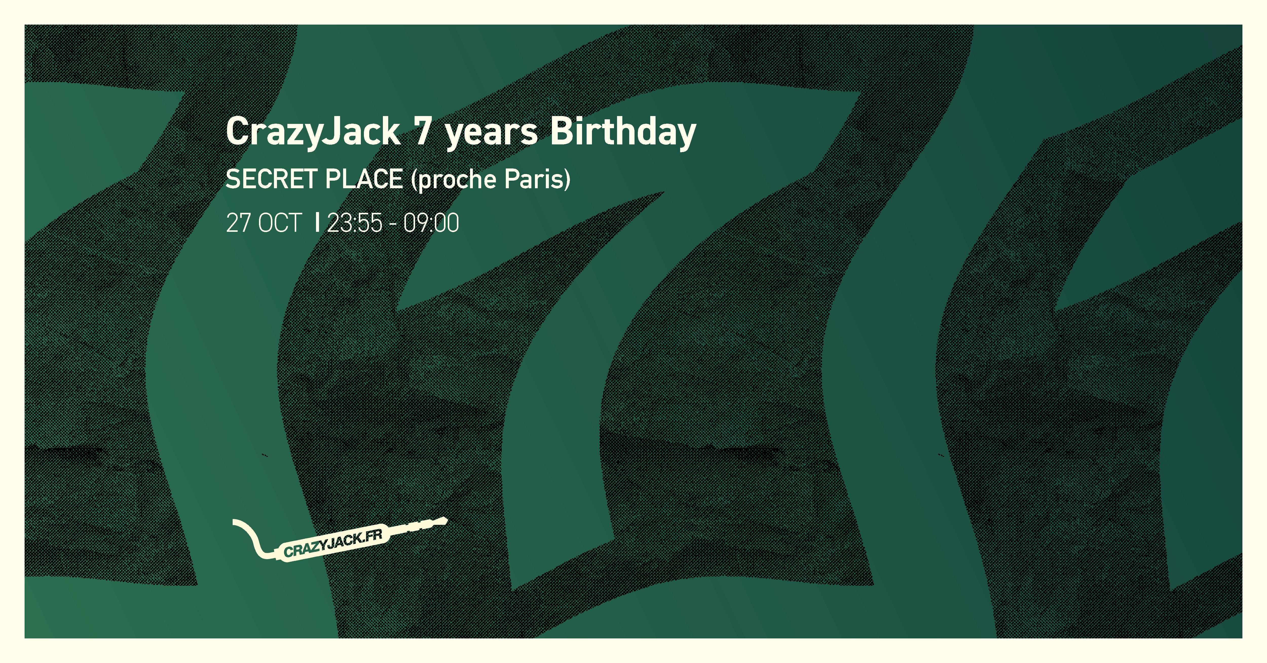 CrazyJack 7 years Birthday