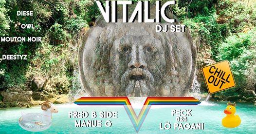 Vitalic DJ SET (pool party)