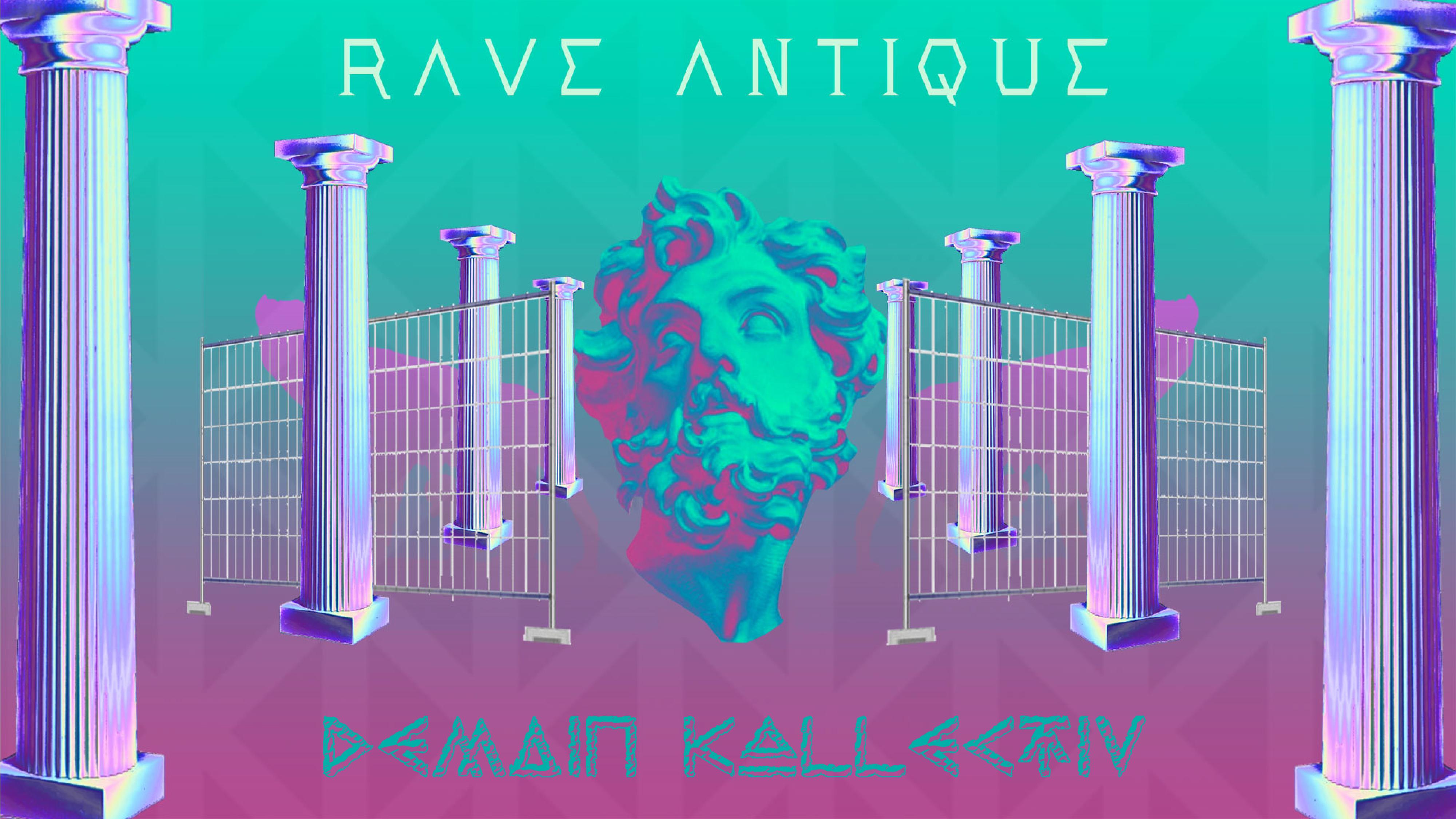 DK Rave Antique ♊︎ // Castle Party