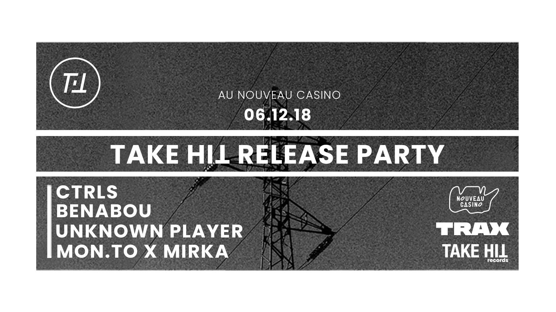 Take Hit release party / Benabou, CTRLS, Unknown player, Mon.To