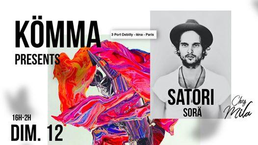 KÖMMA Paris x Chez Mila presents : Satori