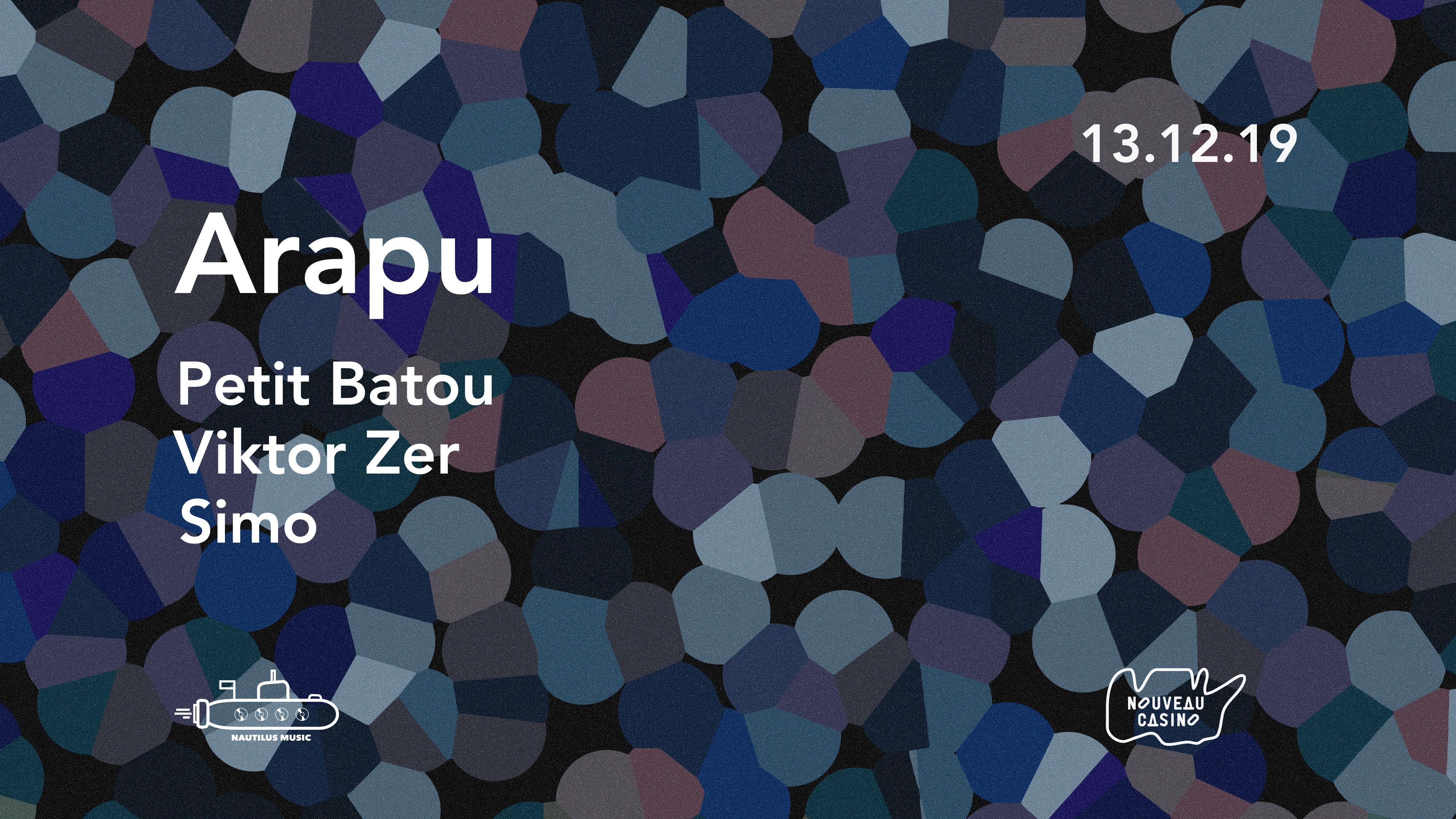Nautilus invite : ARAPU extended set