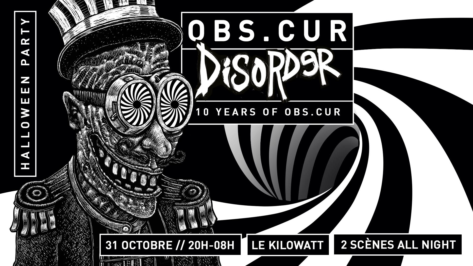 Obs.Cur Disorder : 10 years Of Obs.Cur