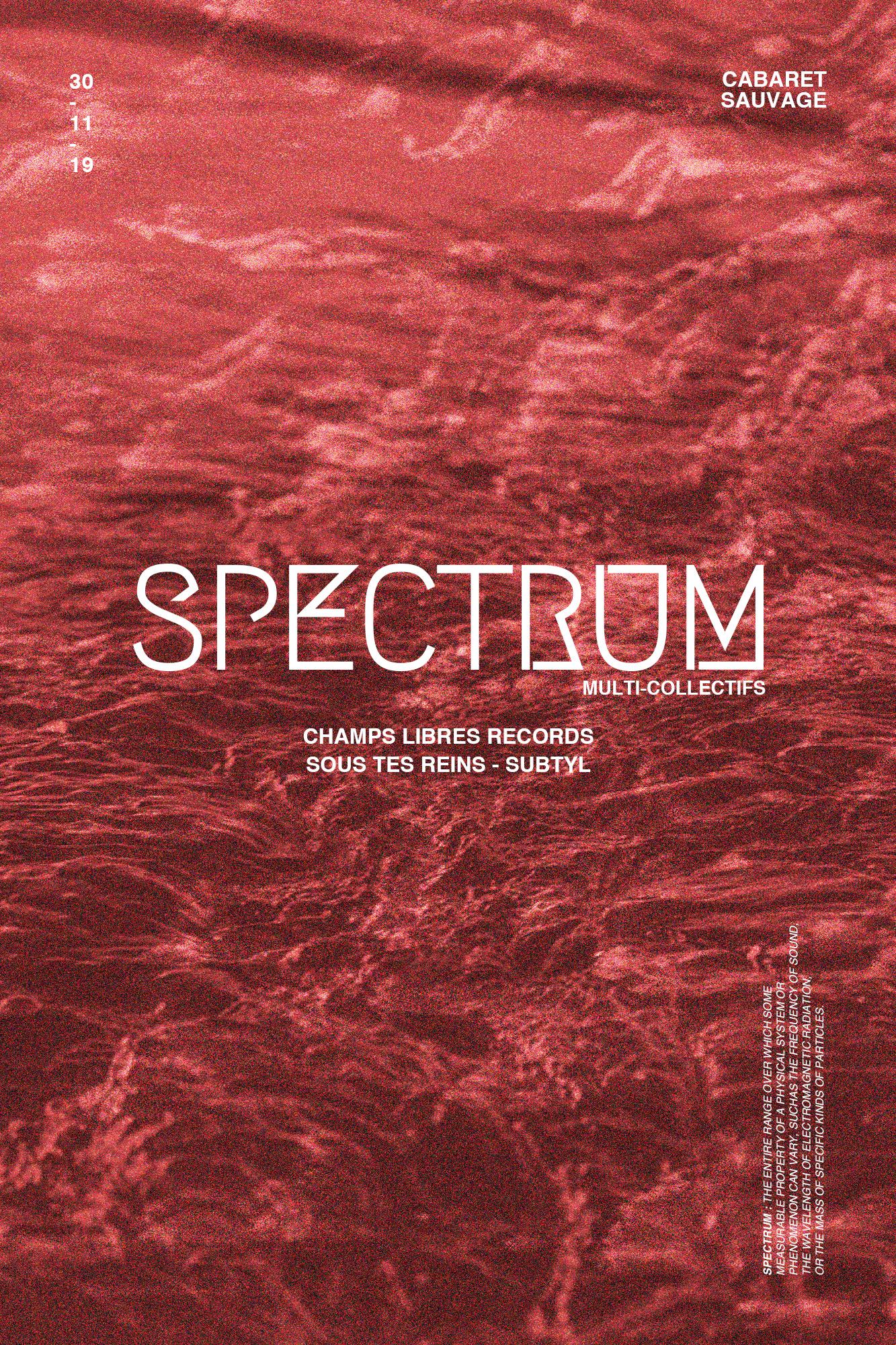 SPECTRUM MULTI COLLECTIFS