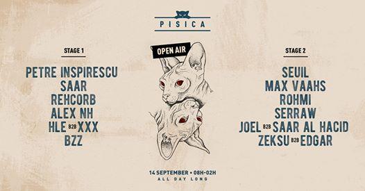 Pisica Open Air : Petre Inspirescu, Seuil, Max Vaahs & More
