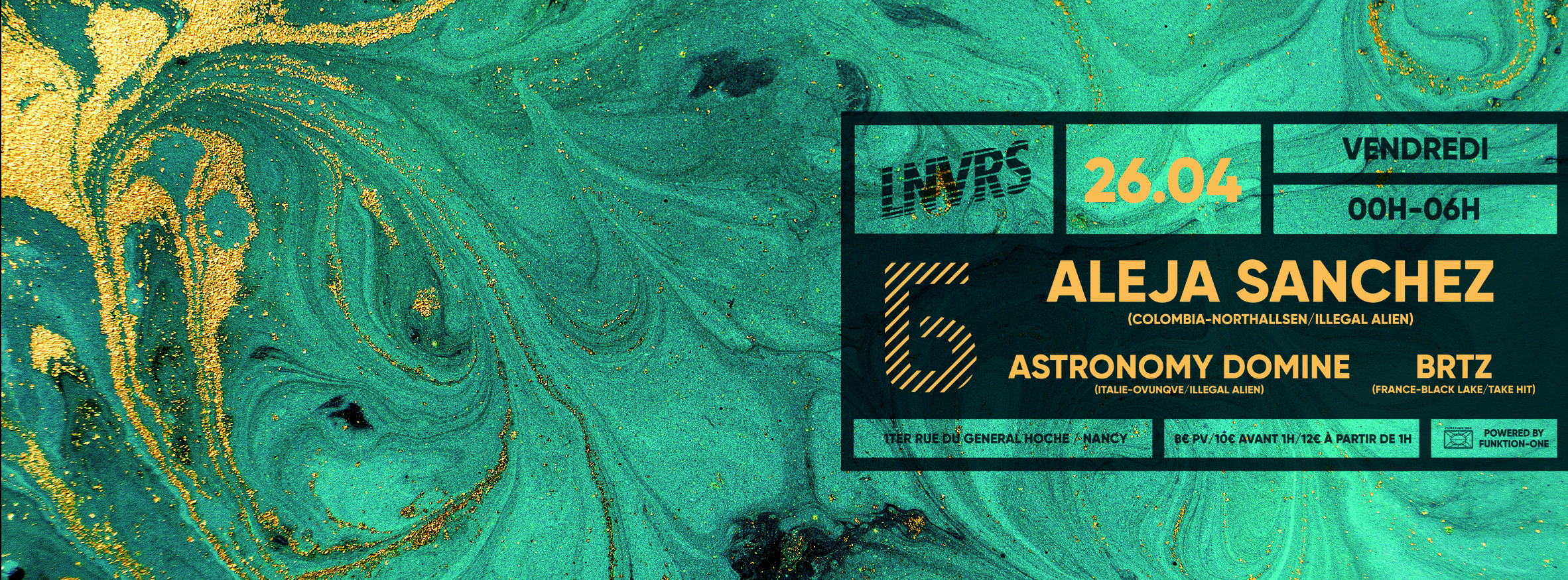 Bliss - Б x LNVRS w/ Aleja Sanchez [Northallsen, Illegal Alien]