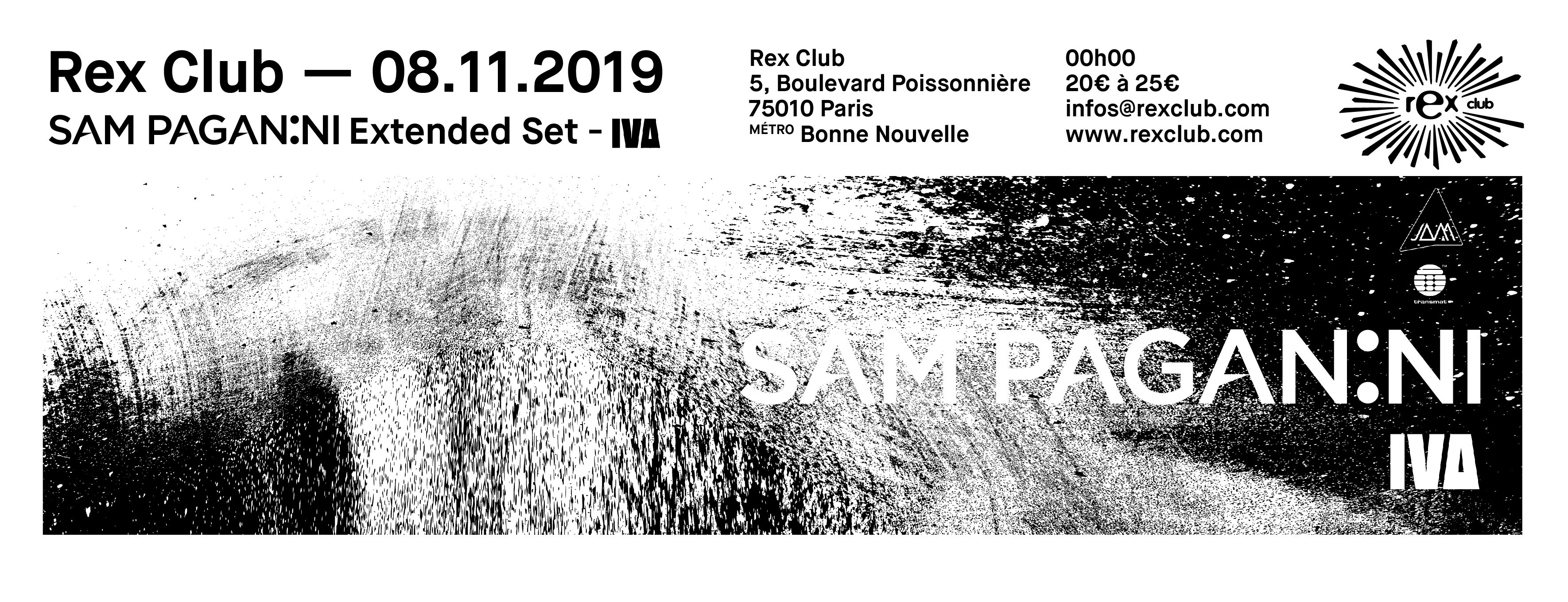 Rex Club presente: Sam Paganini Extended Set & IVA