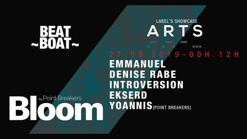 BLOOM x A R T S w/ Emmanuel, Denise Rabe & Introversion