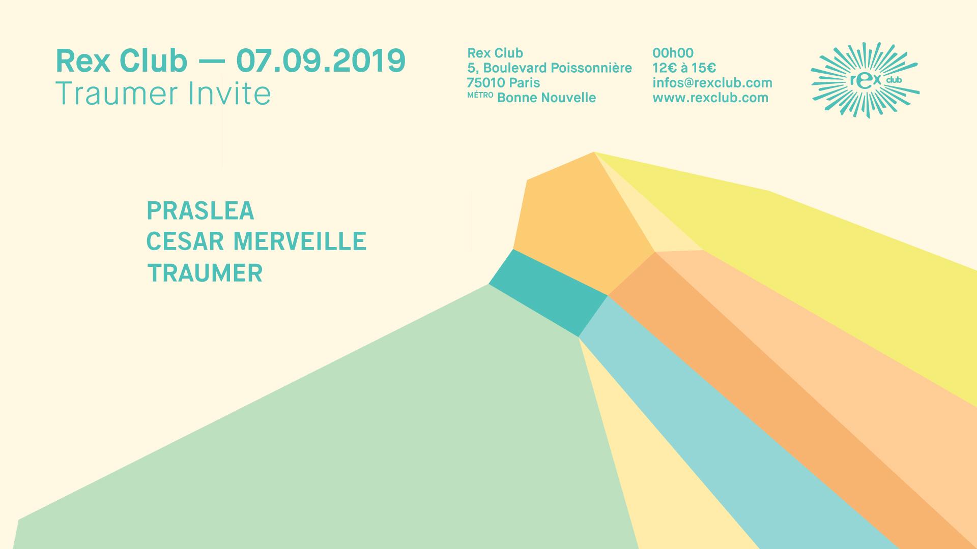 Traumer Invite: Praslea & Cesar Merveille