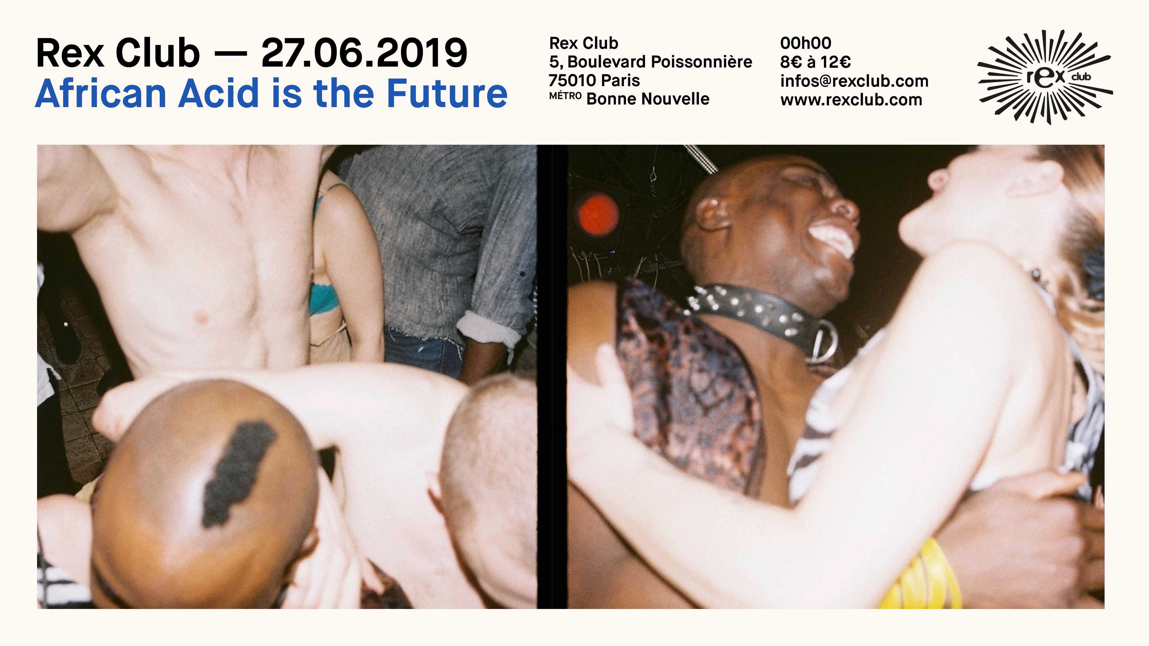 African Acid is the Future: Maryisonacid, Dauwd, La Chatte Live