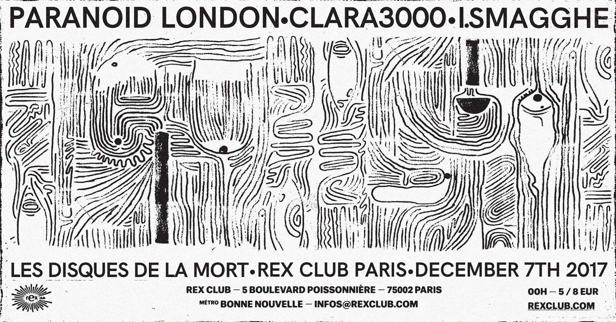 Lddlm: Paranoid London, Clara 3000, Ivan Smagghe
