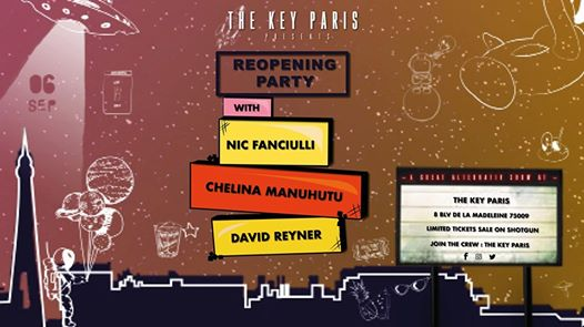 The Key Paris: Opening Season - Nic Fanciulli & Chelina Manuhutu