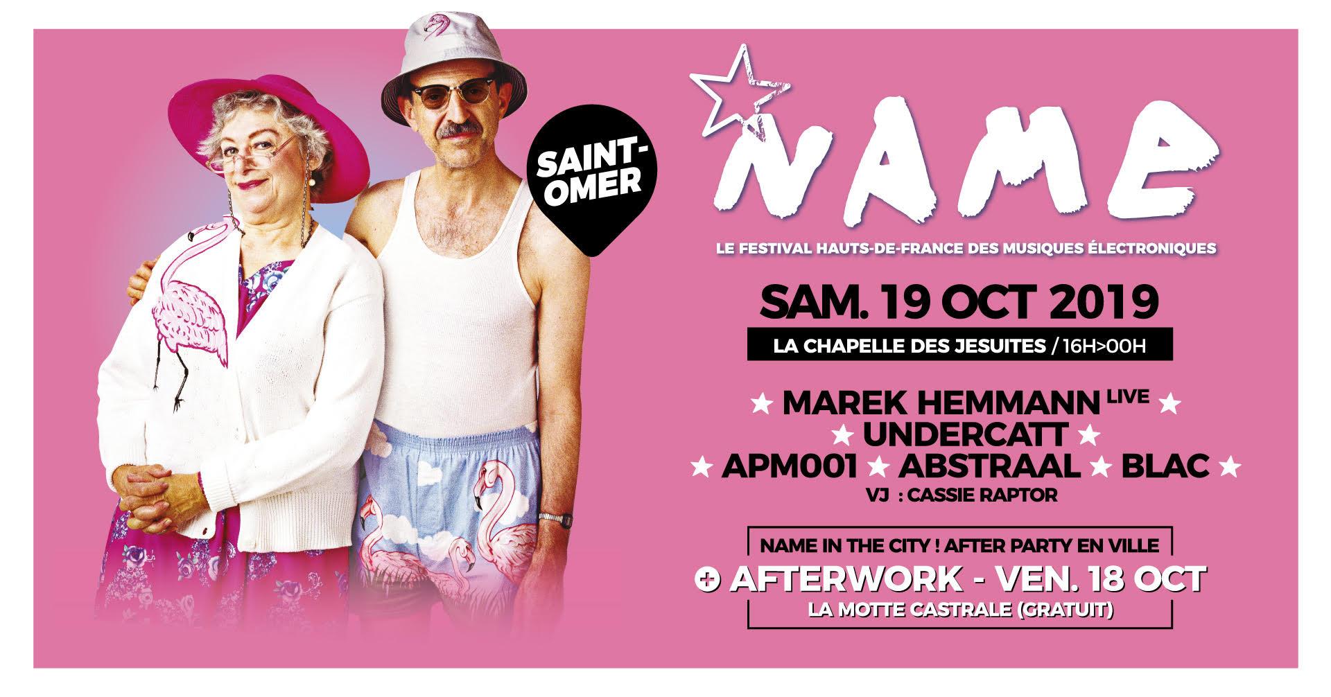 NAME festival : St-Omer 2019