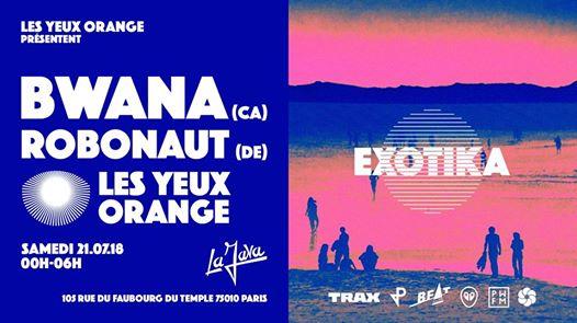 Les Yeux Orange x Bwana (Canada)