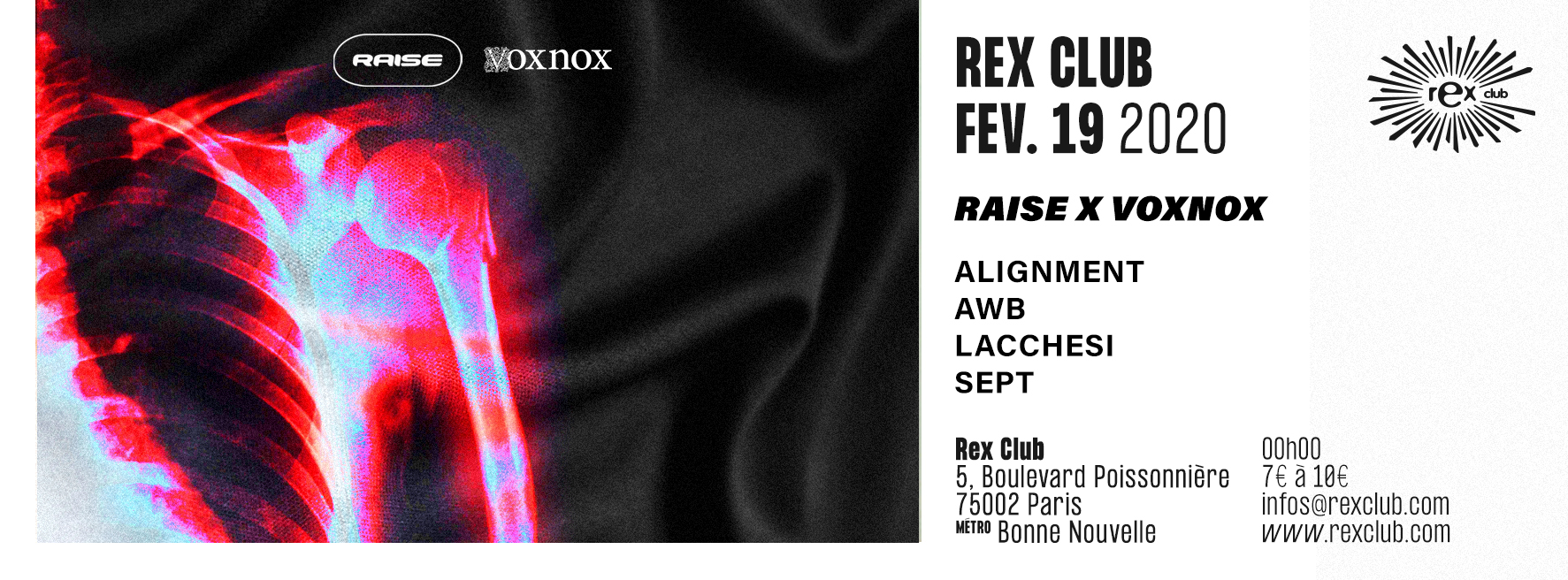 Raise x Voxnox: Alignment, AWB, Lacchesi, Sept